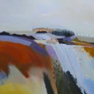 Forgotten Byway Mixed media on canvas 80x80cms