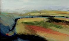 Top Road, acrylic on canvas, 80x55cm framed £525