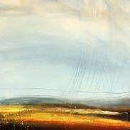 High Ground 1, acrylic on canvas,80x50cm
