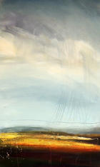 High Ground 1, acrylic on canvas,80x50cm unframed £695
