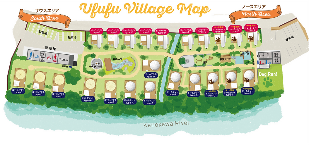 UFUFU VILLAGE MAP
