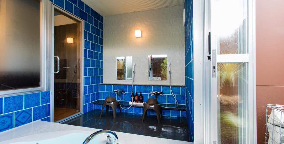 貸切風呂C 洗い場