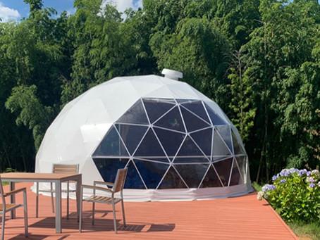 1月下旬よりドームテントがOPENします。