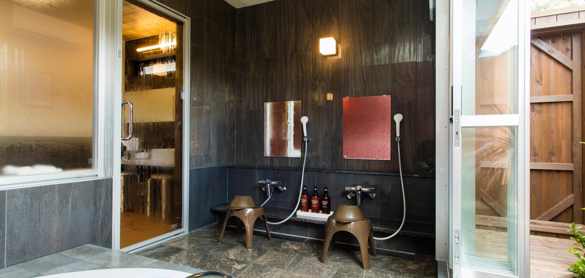 貸切風呂B 洗い場