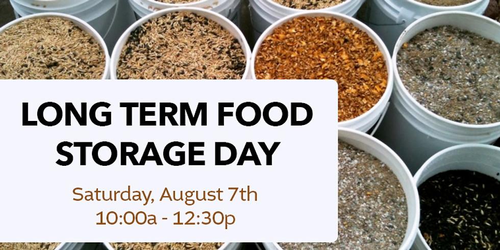 Long Term Food Storage Day