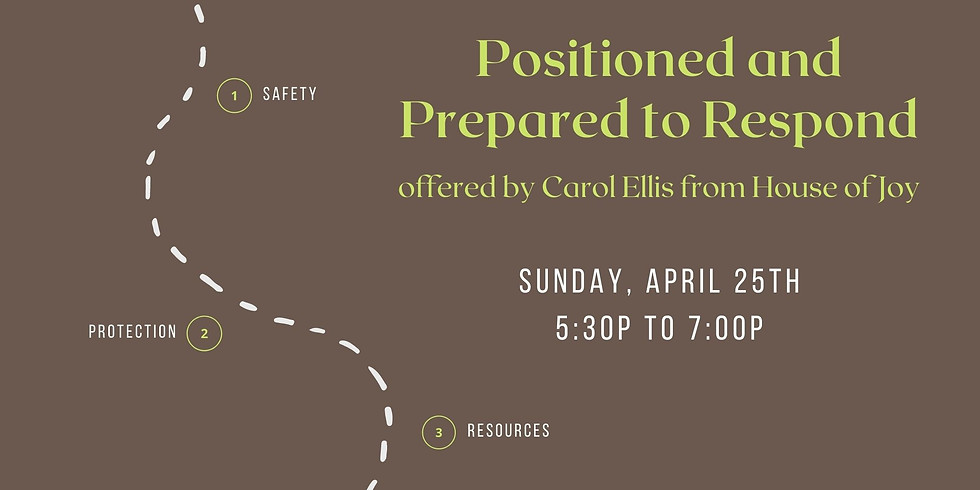 Positioned and Prepared to Respond