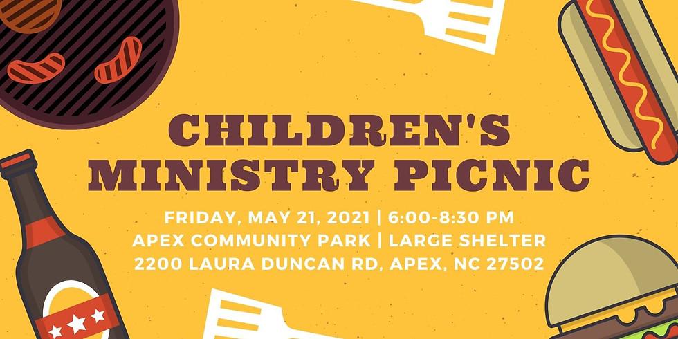 Children't Ministry Picnic