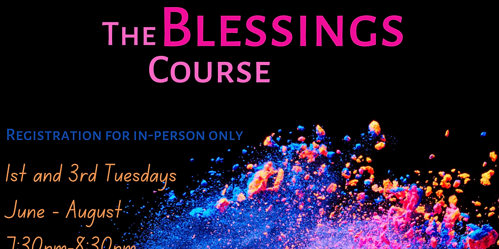 The Blessing Course