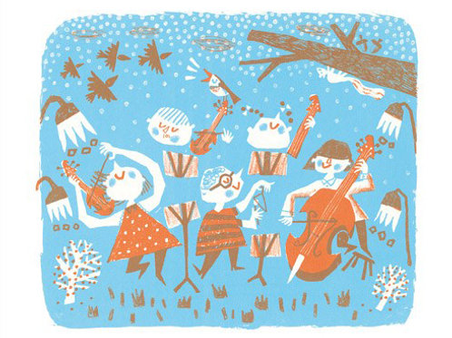 Winter Symphony Card    (Pack of 6)