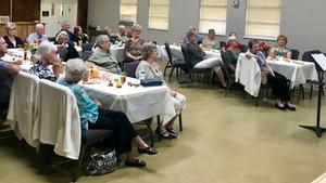 Senior Adult Banquet Recap