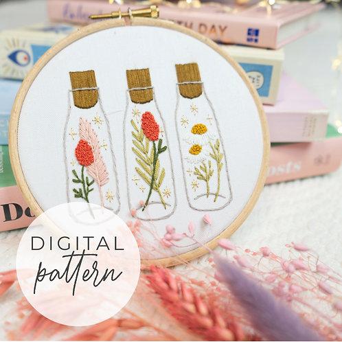 Propagate Magic Digital Embroidery Pattern
