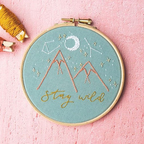 All you need to start embroidery!