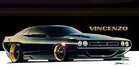 "Forsyth County Customs | 1970 Dodge Challenger ""Vincenzo"""