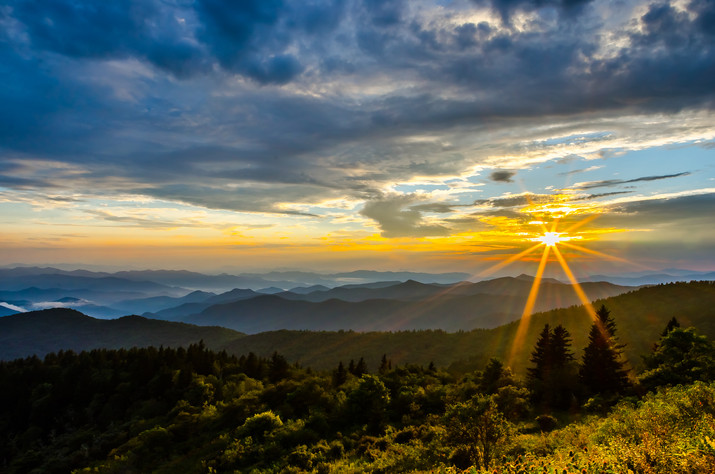 Southwick Images | Cowee Mountain Sunset