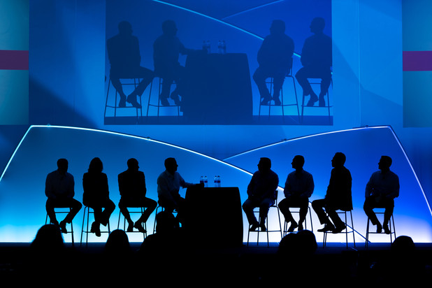 Southwick Images | Corporate Conference Silhouette