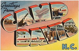 Camp Davis Industrial Park | WWII Era Post Card