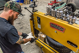 Forsyth County Customs | Baileigh Industrial Bead Roller