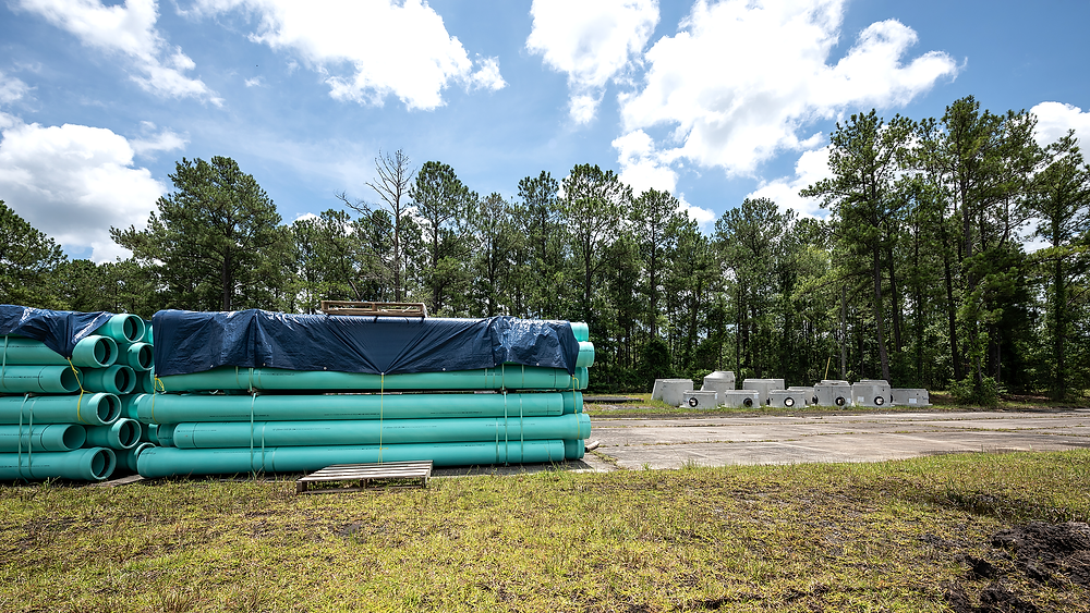 Camp Davis Industrial Park | Water and Sewer Infrastructure