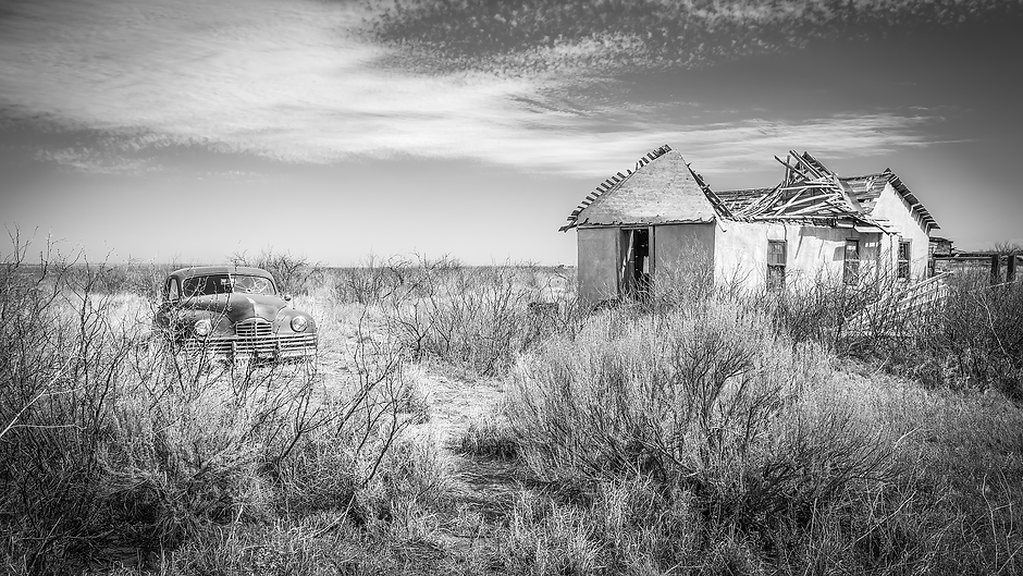 """Forever Parked and Forgotten - 16""""x30"""" Print On Aluminum - Limited Edition"""
