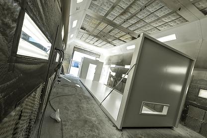 Gulfstream Steel & Supply | Custom Room Enclosure