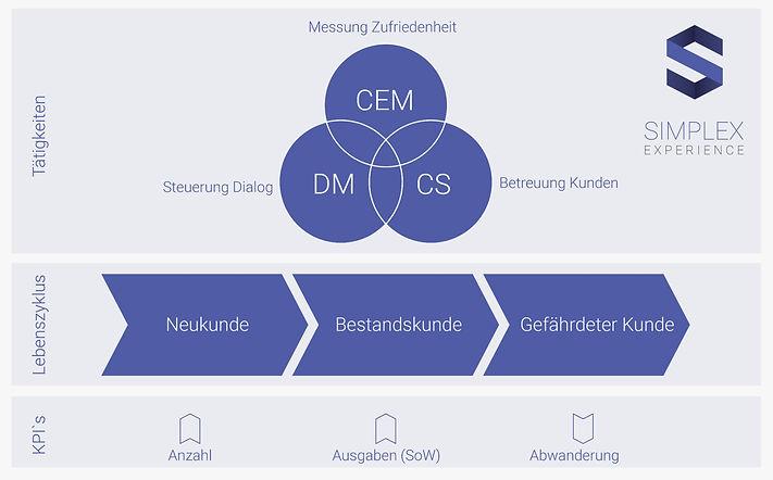 Geschäftsmodell SIMPLEX Experience