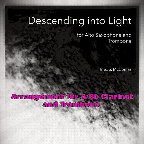 Descending into Light - A/Bb Cl. and Trb. Arrangement