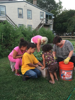 Tuesday night garden helpers