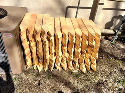 Finished stakes