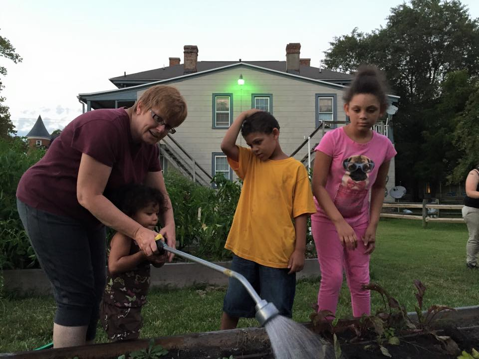 Tuesday night garden helpers