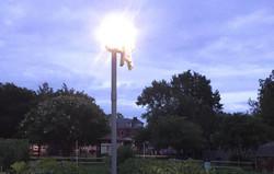 Motion lights at dark