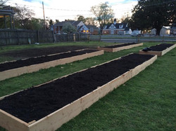 All beds full and ready to plant!