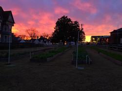Beautiful sunset Dec 7