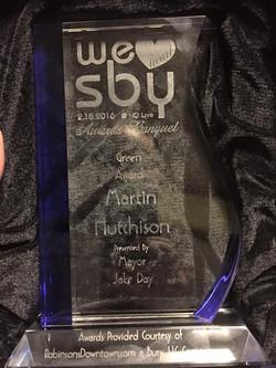 Green Award Feb 18 2016