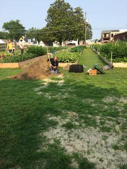 6/10 Preparing to install irrigation