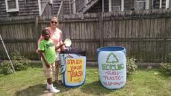 New trashcans