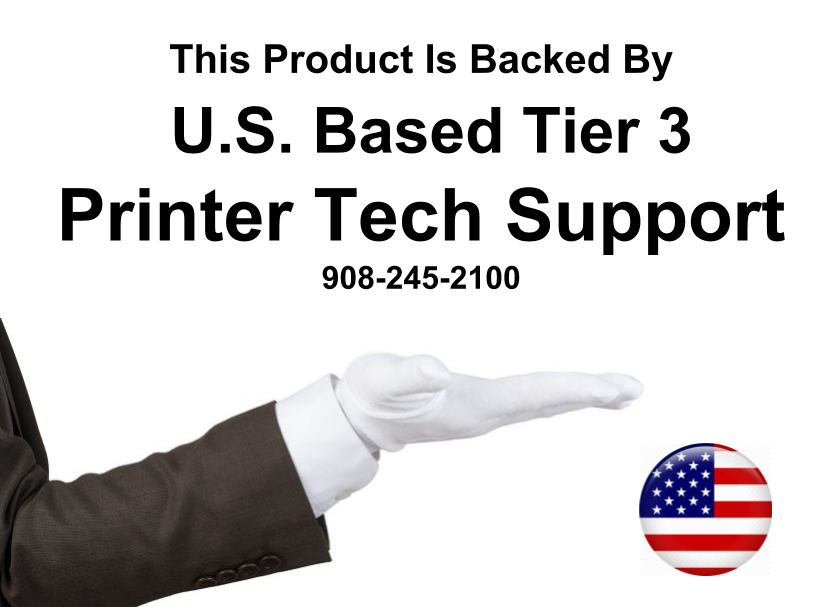 All of Metrofuser's Remanufactured and Genuine Products Are Backed By Our U.S. Based Printer Tech Phone Support