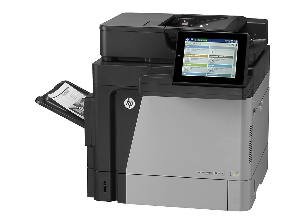 P7Z47A-HP-LaserJet-Enterprise-Flow-MFP-M630h Printer