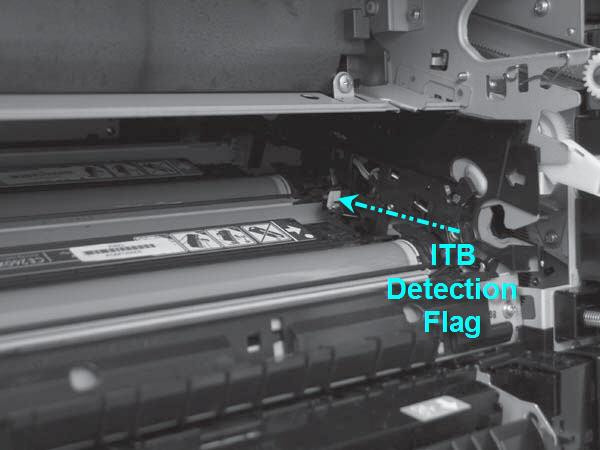 If these instructions on the HP CP4020 CP4025 CP4525, CM4540 M680 M651 LaserJet Printers if the installation of the new transfer kit fails to reset the page count on the printer.