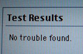 "NTF Printer Parts ""No Trouble Found"""