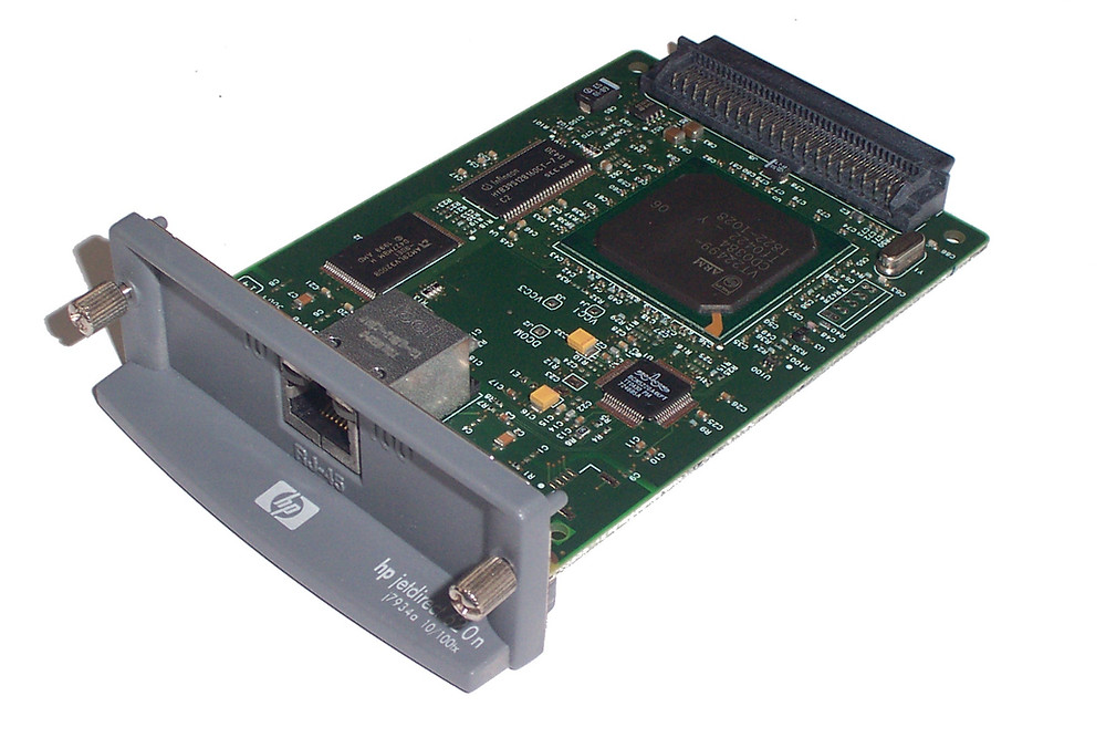 Inside look of HP JetDirect Network Cards and how we rate their reliability