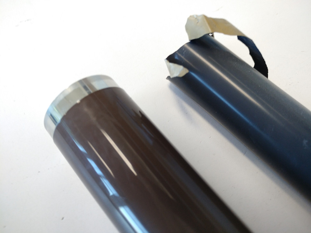 Metrofuser developed a process to replace the polymer sleeve used by the OEM with a Steel Sleeve.