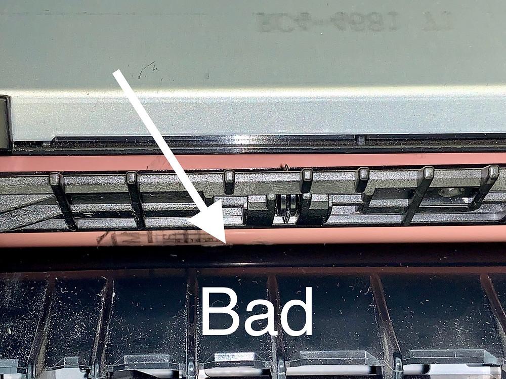 M377 M452 M477 Fuser Roller Failed