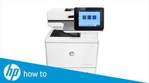 HP Color LaserJet MFP E87640 E87650 E87660 Printer Error