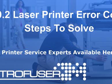60.2 Laser Printer Error Code Steps To Solve