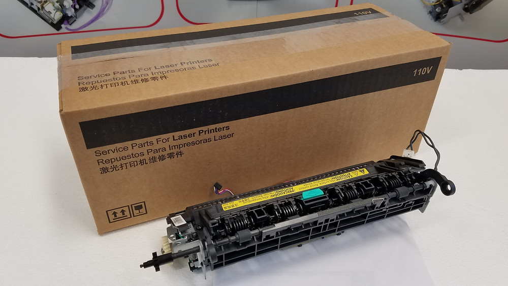 HP fuser removal and replacement for the HP Laserjet M202 M201 M225 M226 Printer and MFP RM1-9658