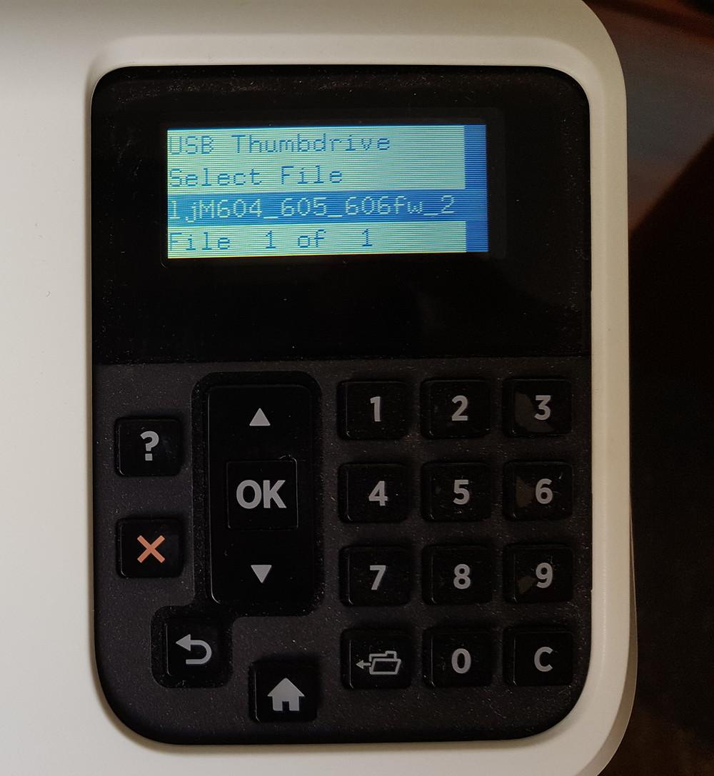 "M601 M602 M603 M604 M605 M606 99.09.06 Error Code ""No BootDevice"""