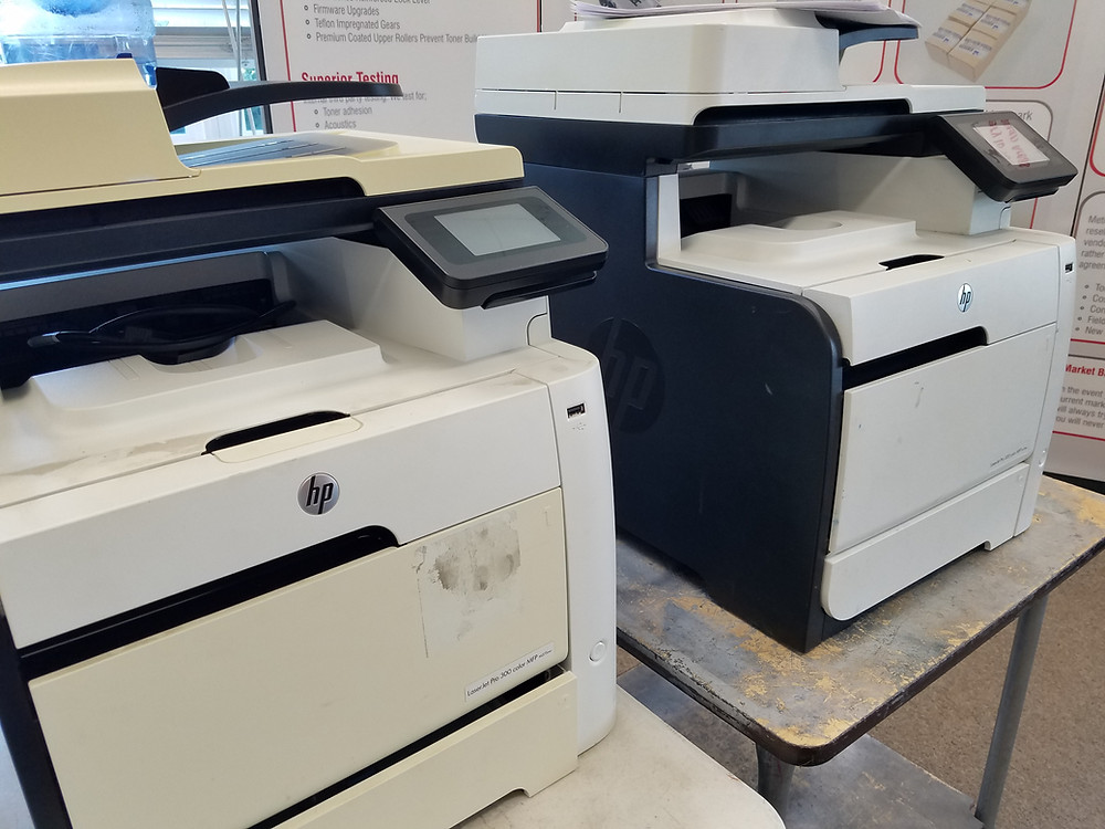 Solving The HP Laser Printer Cover Panel Discoloring Phenomenon
