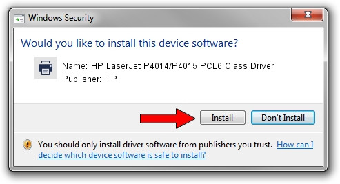 """HP LaserJet P4015 PCL 6"""" print driver"""