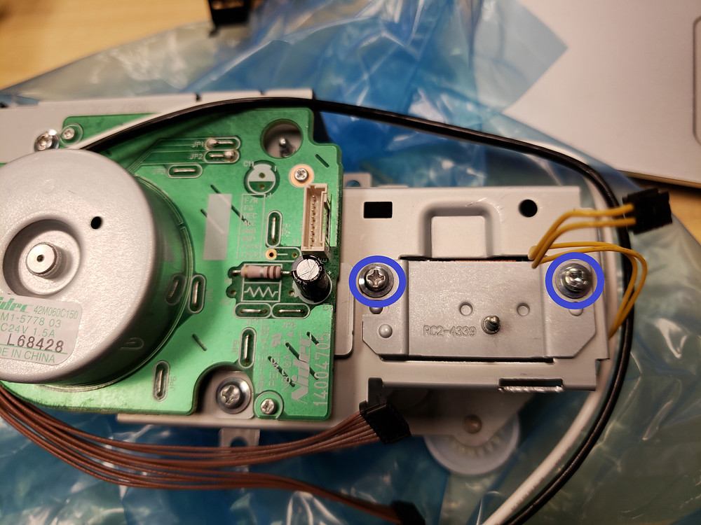 HP Color laserJet CP3525 CM3530 CP4525 & CM4540 59.F0 motor