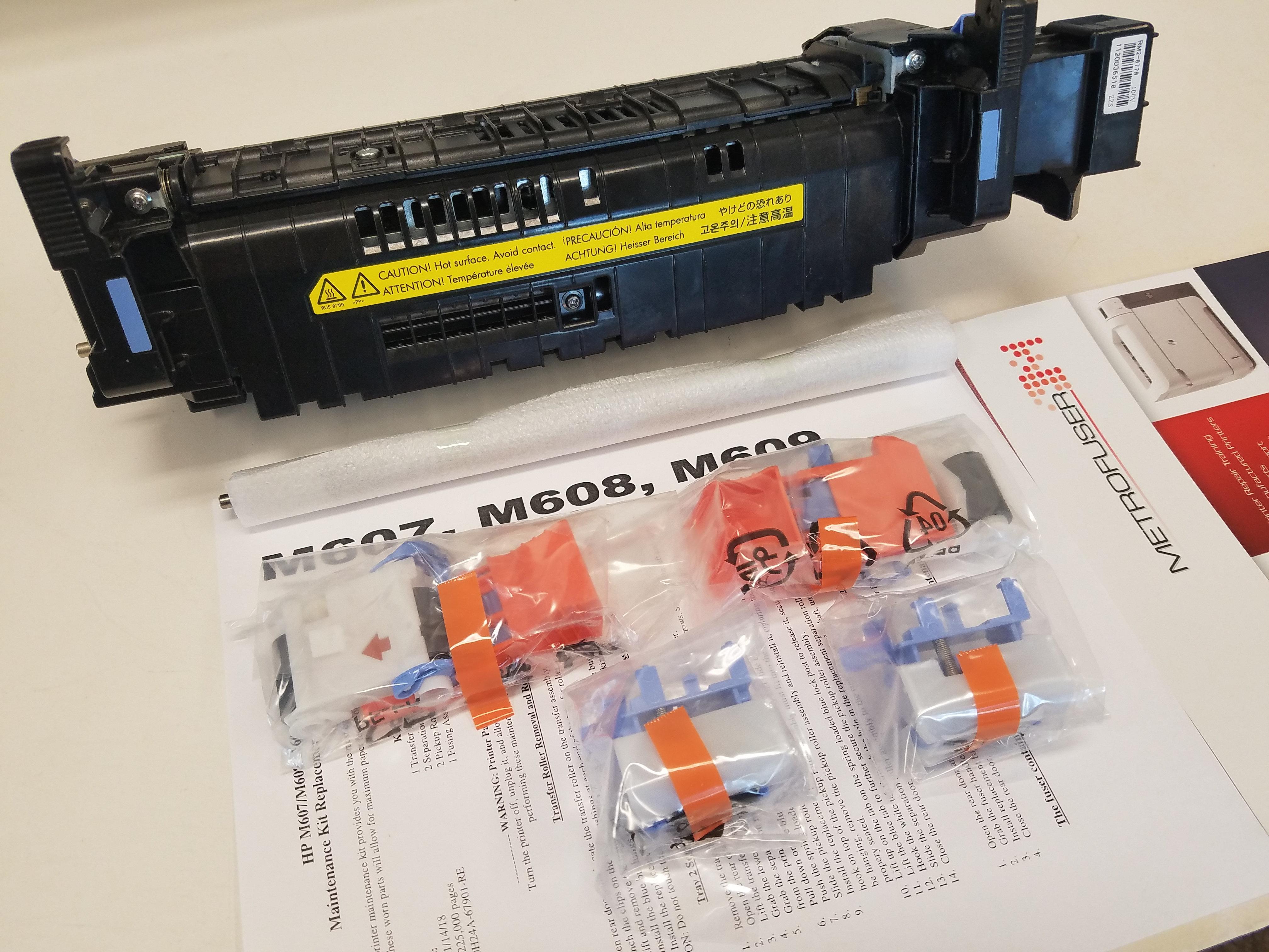HP M607 M608 M609 M631 M632 M633 Maintenance Kit L0H24-67901